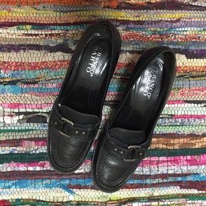 Franco Sarto black office/career shoes